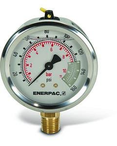 Enerpac G2510L Hydraulic Pressure Gauge