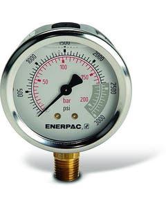 Enerpac G2516L Hydraulic Pressure Gauge