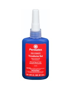 Permatex 27150 High Strength Threadlocker RED