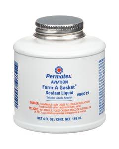Permatex 80019 Aviation Form-A-Gasket No. 3 Sealant Liquid